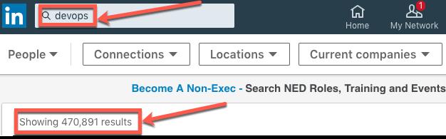 LinkedIn DevOps jobs