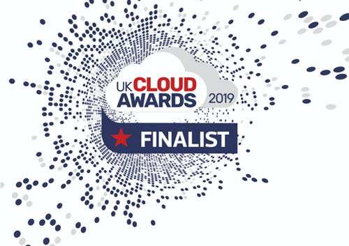 UK Cloud Awards Finalist