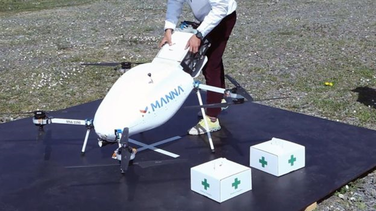 technology fight Coronavirus drone