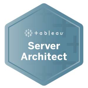 zsah Tableau certified Server Architect
