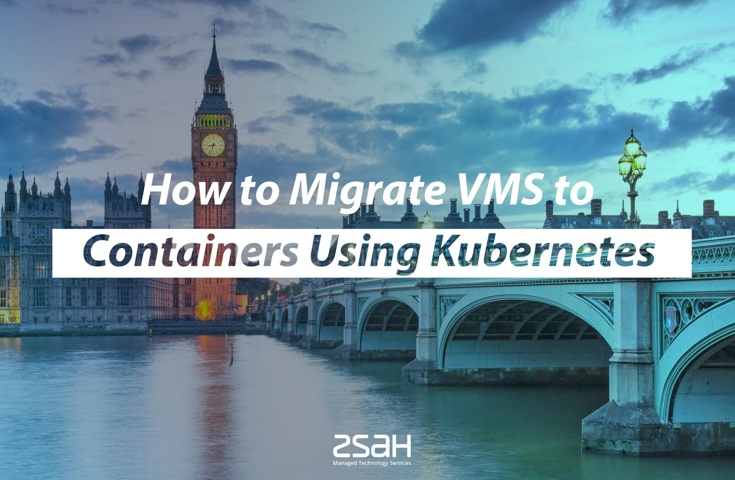 How to migrate VMS to container using kubernetes - zsah